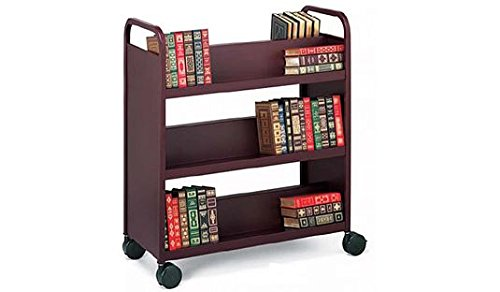 Bretford Mobile Book and Utility Truck with 6 Slant Shelves- Polo ()