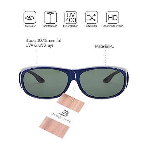 cca70194d1 De alta calidad BOZEVON Gafas de Sol Deportivas Polarizadas con Proteccion  UV400 Para Hombre y Mujer