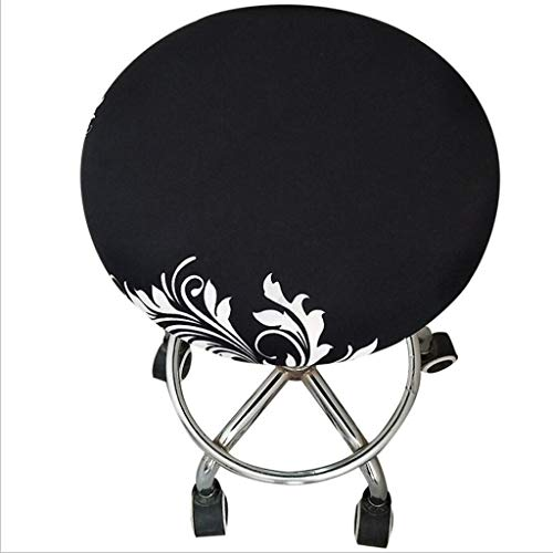 Fityle Elegant Removable Bar Stool Replacement Cover Round Chair Seat Cover Protector Desk Salon Sleeve - Style_8 by Fityle (Image #3)