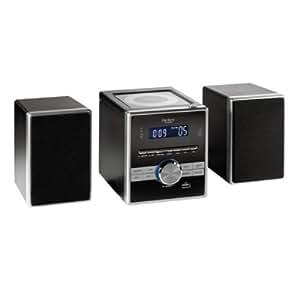 Clip Sonic CH1028USB - Microcadena Hi-Fi (reproductor de CD/MP3, radio FM, USB), color negro [Importado de Francia]