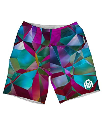 INTO THE AM Gradience Men's Casual Athletic Shorts (32) -