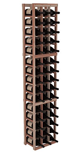 Wine Racks America Redwood 3 Column Magnum/Champagne Kit. Unstained