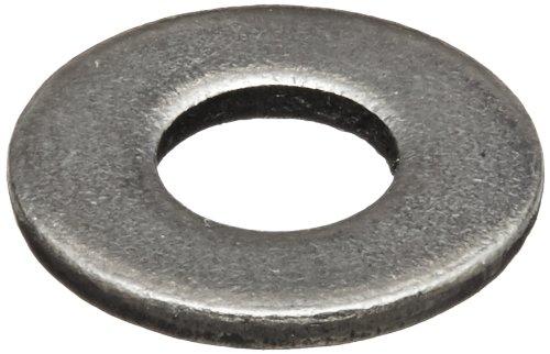 Steel Flat Washer, Plain Finish, ASME B18.22.1, No. 10 Screw