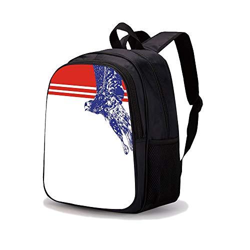 Tattoo Flag American Eagle - 13.7