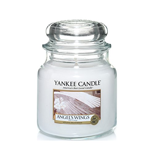 Candle Wing Angel (Yankee Candle Medium Jar Candle, Angel's Wings)