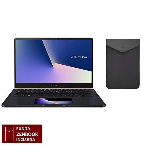 "ASUS ZenBook Pro 14 UX480FD-BE010T - Portátil de 14"" FullHD (Intel Core i7-8565U, 16GB RAM, 512GB SSD, NVIDIA GeForce GTX1050 4 GB, Windows 10) Metal Azul Profundo - Teclado QWERTY Español 2"