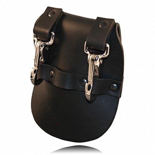 Boston Leather Jailers Double Key Holder - 5441-1 ()