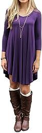 Amazon.com: Purple - Dresses / Clothing: Clothing Shoes &amp Jewelry