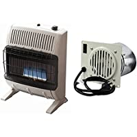 Mr. Heater Vent Free Blue Flame Propane Heater w/ Vent Free Blower Fan