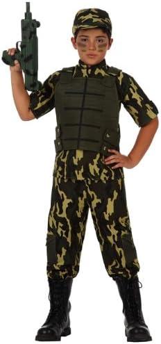 Atosa-10953 Disfraz Militar, color verde, 7 a 9 años (10953 ...