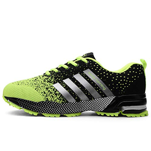 2019 Men Shoes Men Casual Shoes Summer Unisex Lightweight Breathable Mesh Fashion Male Shoes Sneakers Green 11
