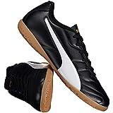 Chuteira Puma Clássico II IT Futsal Juvenil Preta f3cdd6f681c51