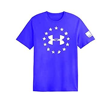 Under Armour Freedom T-Shirt White XL 1233769402XL