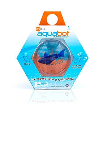 HEXBUG Aquabot with Fishbowl (Styles and Colors May Vary)