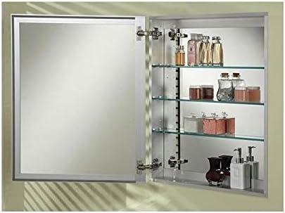 Afina SD 2430 R BRD-BV Broadway Single Door Medicine Cabinet