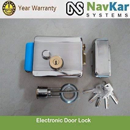 NAVKAR Electronic Door Lock with Biometric RFID Password Access Control Support