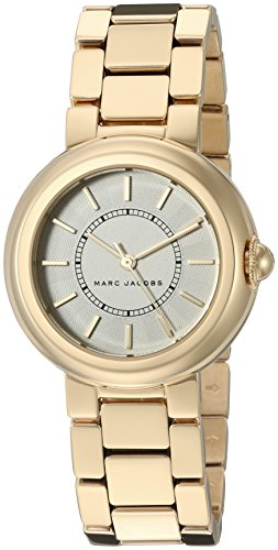 마크제이콥스 코트니 시계 마크 제이콥스 Marc Jacobs Womens Courtney Gold-Tone Watch - MJ3465