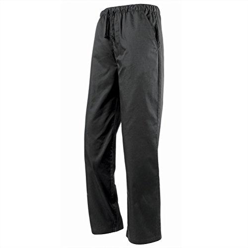 Premier Essential Chefs Trouser - - Black/Grey Fine Stripe - XS by Premier (Image #3)