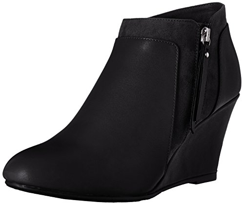CL by Chinese Laundry Women's Vania Boot, Charcoal, 6 M US Black/Black Suede