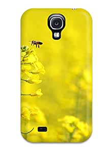 Gary L. Shore's Shop Christmas Gifts 2603480K90523350 Case Cover Protector Specially Made For Galaxy S4 Yellow Flowers