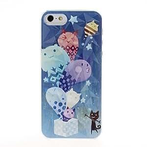 QHY Magic Box Pattern Diamond Effect Plastic Hard Case for iPhone 5/5S