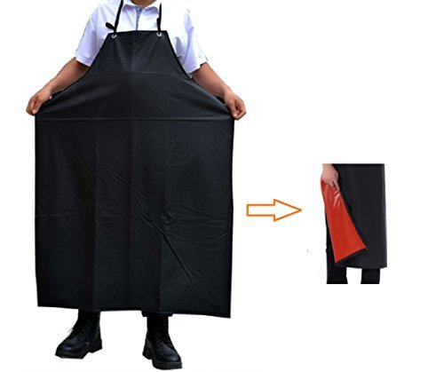 [tre JP] 【 Water proof Apron 】 Outdoor Fishing Meat and Food Service Facilities Chemical Resistant Work Safe Clothes Fishing Apron