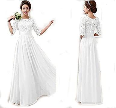 f482209fc48 White Color Ladies Women s Fashion Evening Dress Wedding Clubwear Party Dress  Night Out