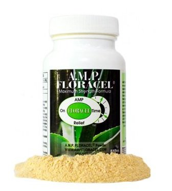 AMP Floracel POWDER, Aloe Vera Powder, Organic Aloe Supplement for Digestive or Auto-Immune Diseases or Disorders