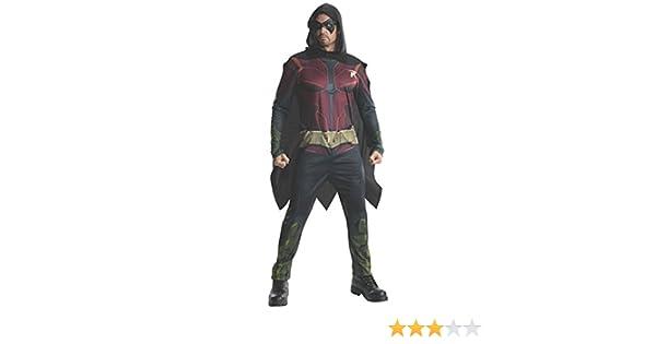 Rubies s Oficial de Hombre Robin Batman Arkham, Adulto Disfraz – Grande