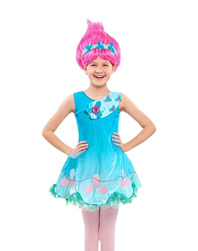 Trolls Poppy Dress Up Outfit For Children