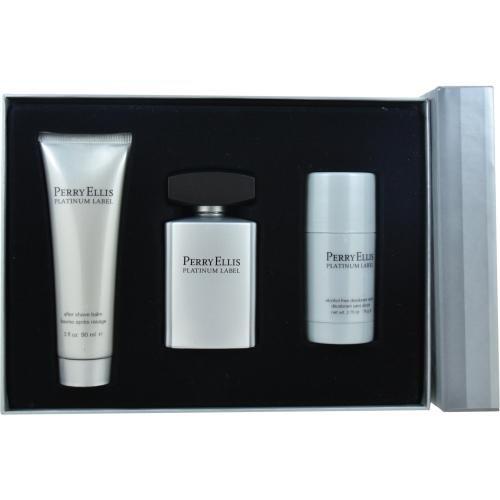 Perry Ellis Platinum Label Fragrance Gift Set for Men