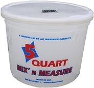 Encore Plastics 41017 Mix 'N Measure Plastic Container, 1-