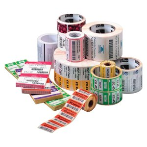 2U82576 - Zebra Label Paper 4 x 1in Direct Thermal Zebra Z-Select 4000D 1 in core by Zebra Technologies