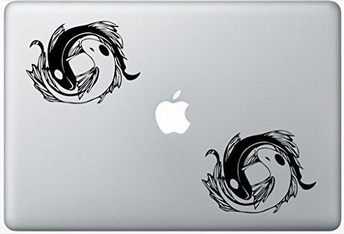 Avatar Yin Yang Koi Fish FlashDecals0748 Set Of Two (2x) , Decal , Sticker , Laptop , Ipad , Car , Truck -