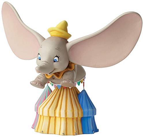 Enesco Grand Jester Studios Disney Dumbo Flying Over Circus Figurine 4050098 - Elephant Figurine Circus