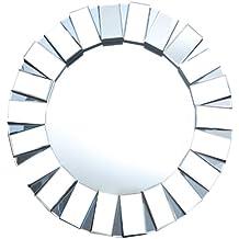 Abbyson Pacific Round Wall Mirror