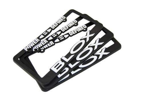 Blox Racing BXAP-00059 BLOX Logo Decal Black Medium