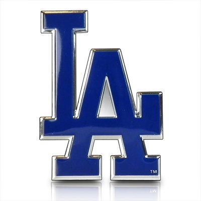 MLB Los Angeles Dodgers Die Cut Color Automobile Emblem