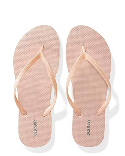 Old Navy Women Beach Summer Casual Flip Flop Sandals (9, Salmon)