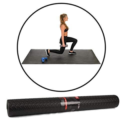 Core Balance Large EVA Foam Floor Mat, Non-Slip, Anti-Fatigue, 0.7mm Thick, Protective Safety Flooring Home Gym, Garage…