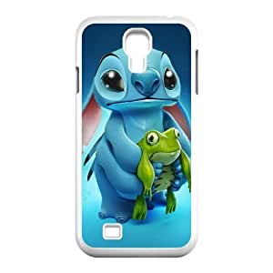 Generic for Samsung Galaxy S4 9500 Cell Phone Case White Lilo and Stitch Custom HHGKAOJFD3802