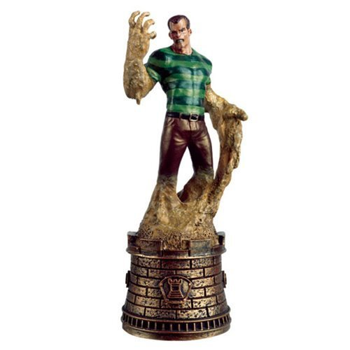 (Marvel Sandman Black Rook Chess Piece with Collector)