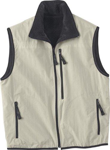 - Ash City Mens Techno Lite Reversible Vest_Flint w/Black_S