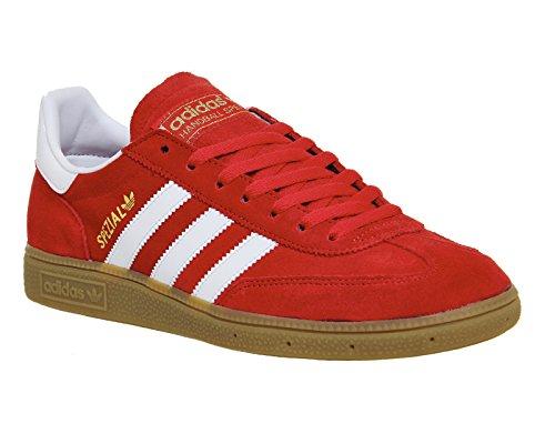 adidas Spezial, Sandalias con Plataforma para Hombre Red/Wht