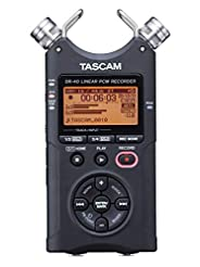 Tascam DR-40 4-Track Portable Digital Au...