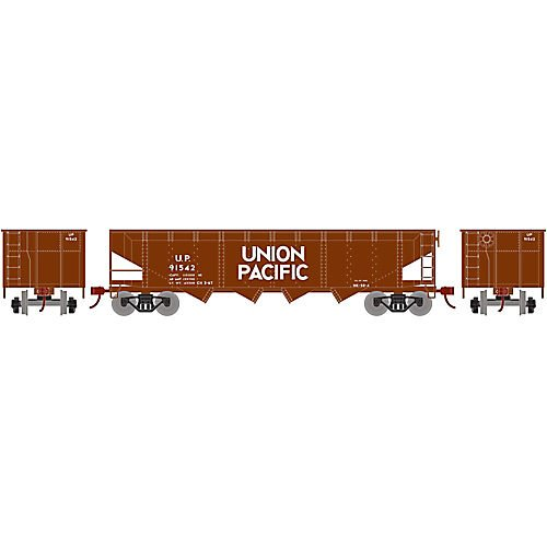 Offset Hopper w Coal Load UP #91542 ()