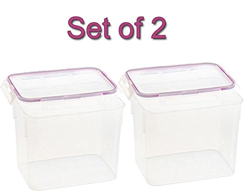 Snapware 1098422 17 Cup Medium Rectangle Storage Container Set of 2