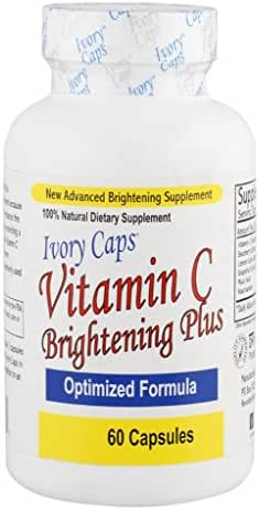 Ivory Caps Maximum Strength Vitamin C Brightening Plus 60 Caps