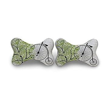 Amazon.com: aalifeme Árbol Verde almohada de viaje, almohada ...