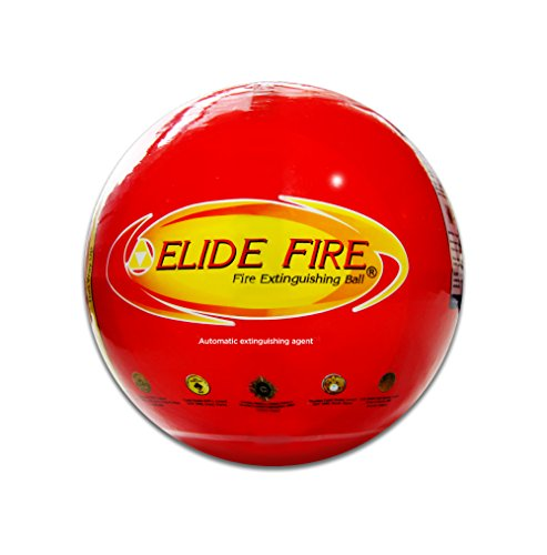 (Elide Fire Ball, Self Activation Fire Extinguisher, 2018 New Version , Boat Extinguisher, Car Extinguisher, Fire Safety Product, Elide, 5 Year warranty)
